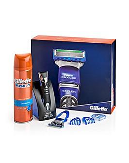 Gillette Fusion ProGlide Styler Gift Set