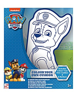 Paw Patrol Colour Your Own Cushion