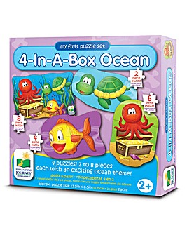 My First Puzzle 4 In-A-Box Puzzles Ocean