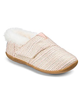 Toms Infant Metallic House Slippers