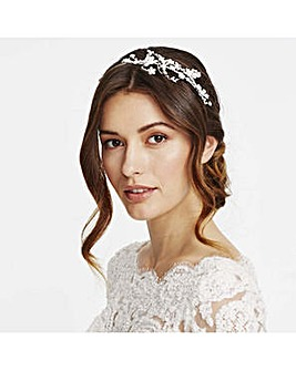 Alan Hannah Crystal Swirl Headband