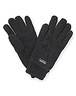 Thinsulate Black Gloves