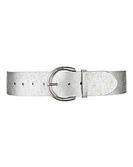 Metallic Chunky Waist Belt