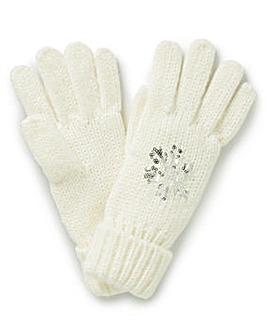 Snowflake Gloves