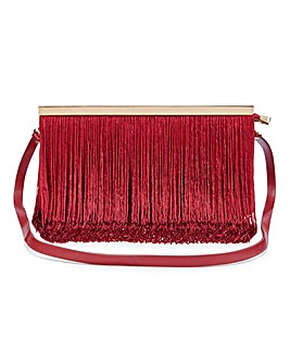 Charlotte Fringing Clutch Bag