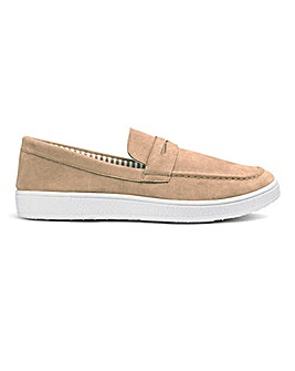 Casual Slip On Saddle Loafers