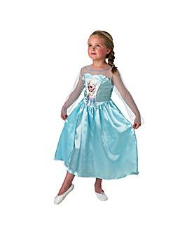 Frozen Classic Elsa Costume + Free Gift
