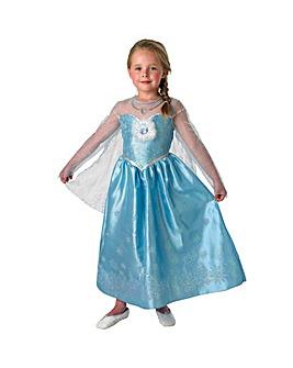 Frozen Deluxe Elsa Costume + Free Gift