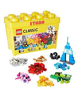 Personalised Lego Large Brick Box