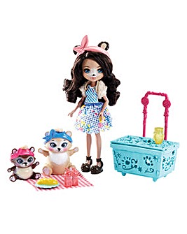 Enchantimals Paws for a Picnic Doll Set