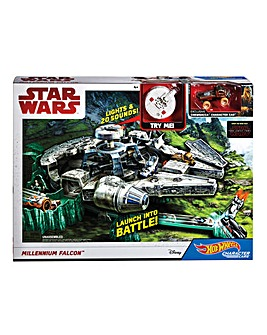Hot Wheels Millenium Falcon Playset