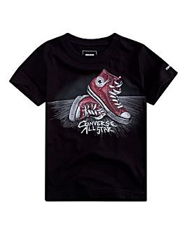 Converse Boys Scratchy Chucks Tee