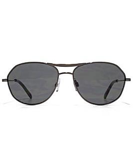 Ben Sherman Tapered Aviator Sunglasses