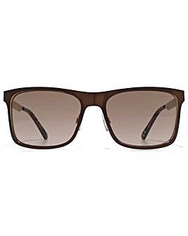 Ben Sherman Checked Temple Sunglasses