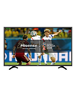 Hisense 43in 4K HDR Smart TV