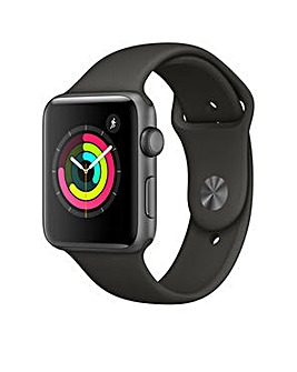 Apple S3 GPS  42m Grey Sport Band