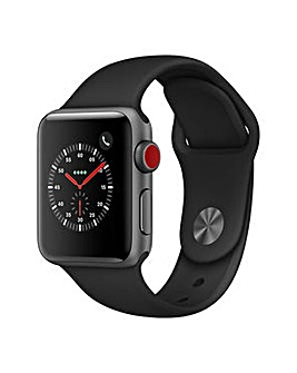 Apple Watch 3 38mm Black Sport Band