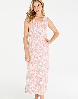 Pretty Secrets Animal Print Maxi Nightie
