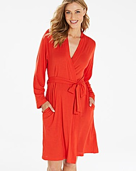 Pretty Secrets Super Soft Wrap Gown L36