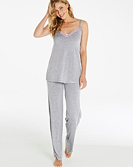 Pretty Secrets Soft Lace Cami Pyjama Set