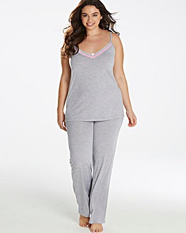 Pretty Secrets Soft Lace Cami Pyjama Set