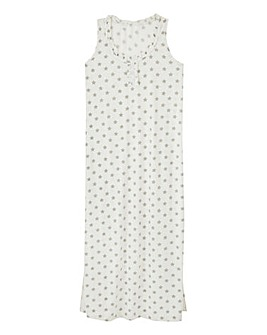 Pretty Secrets Star Print Maxi Nightie