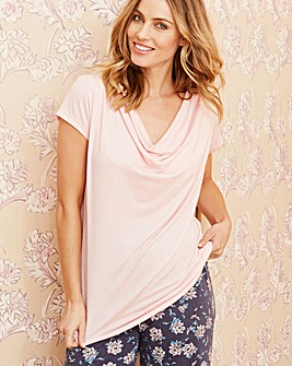 Pretty Secrets Cowl Neck Top