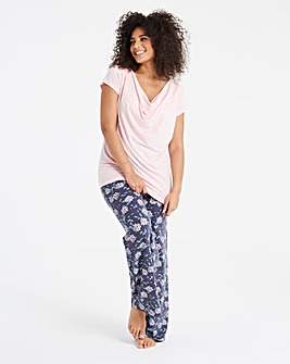 Pretty Secrets Floral Wide Leg Trousers