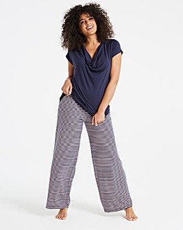 Pretty Secrets Stripe Wide Leg Trousers