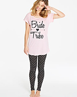 Pretty Secrets Bride Tribe Legging Set