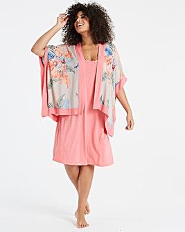 Pretty Secrets Tropical Luxe Kimono