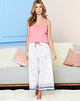 Pretty Secrets Printed Culotte Set