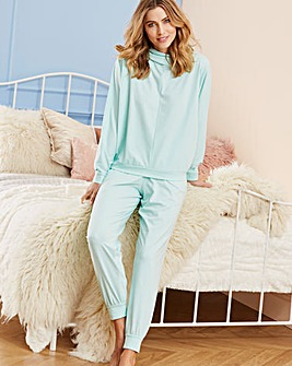 Pretty Secrets Pale Blue Loungewear Set