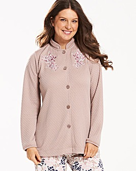Pretty Secrets Quilted Bed Jacket