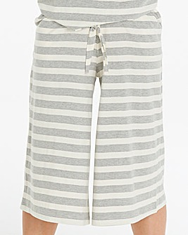 Pretty Secrets Stripe Lounge Culottes