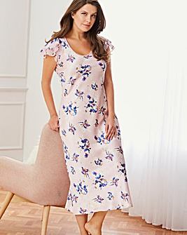 Pretty Secrets Luxe Floral Satin Nightie