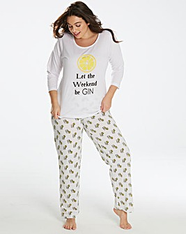 Pretty Secrets 3/4 Sleeve PJ Set