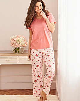 Pretty Secrets Short Sleeve Pyjama Set