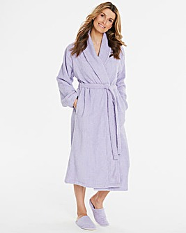 Pretty Secrets Towelling Gown & Slippers