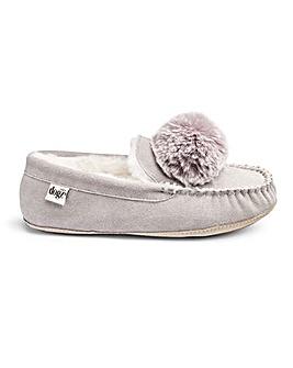 Lazy Dogz Moccasin Slippers E Fit