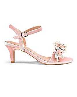 Heavenly Soles Occasion Sandals E Fit