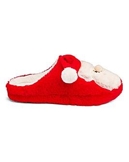 Santa Mule Slippers E Fit