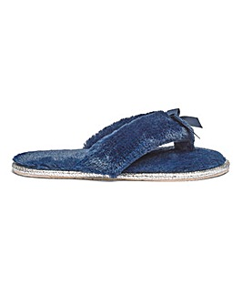 Heavenly Soles Toe Post Slippers