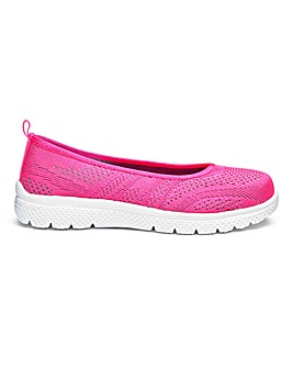 Cushion Walk Leisure Ballerinas EEE Fit