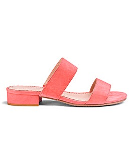 Flexi Sole Mule Sandals E Fit