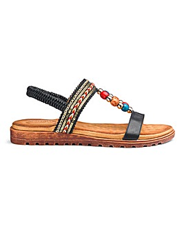 Heavenly Soles Comfort Sandals EEE Fit