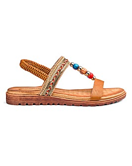 Heavenly Soles Comfort Sandals E Fit