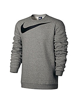 Nike Logo Crew Fleece Sweatshirt