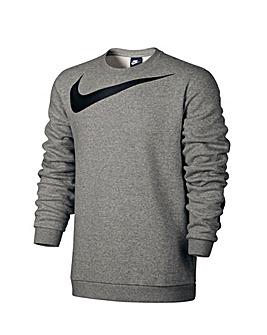 Nike Logo Crew Fleece Sweatshirt