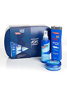 VO5 Extreme Style Matt Tin Mens Gift Set